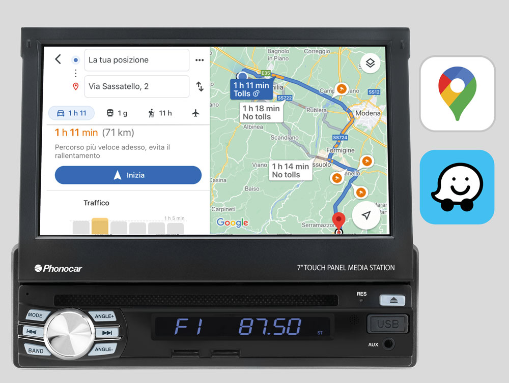 Phonocar VM045 Navigazione-Online