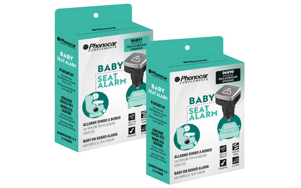 Phonocar Baby Seat Alarm Scatole