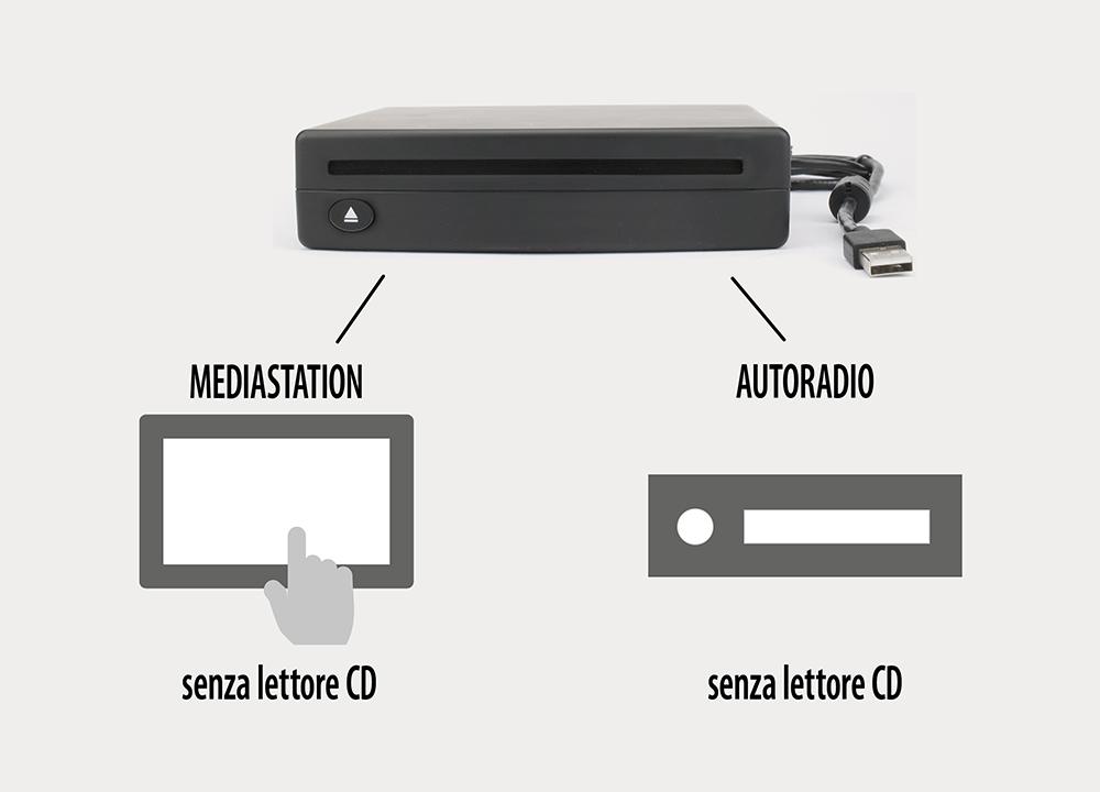 Phonocar VM550 Massima praticità