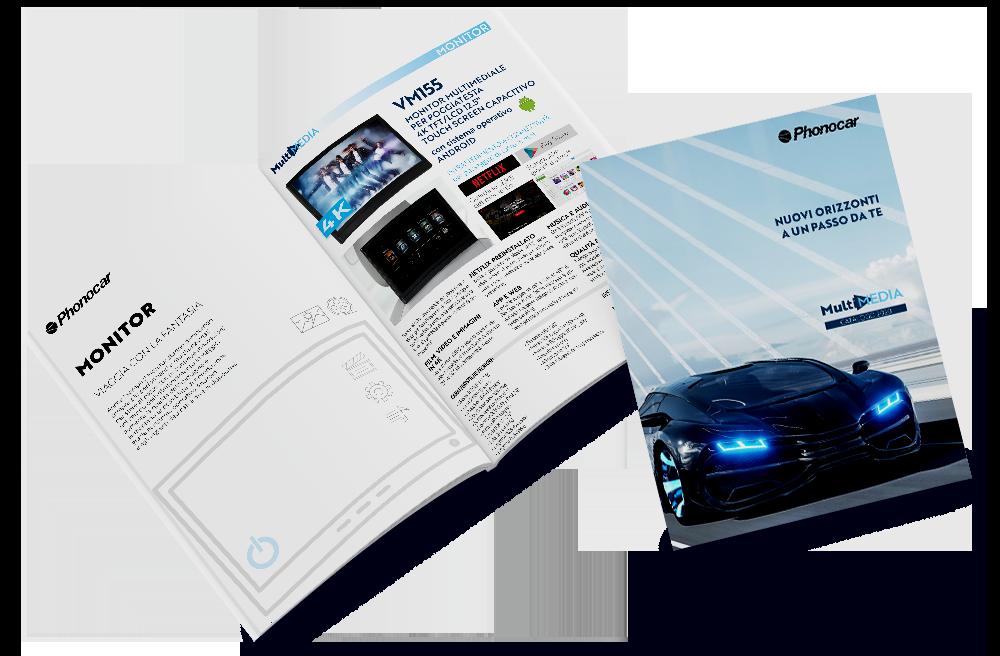Phonocar catalogo Multimedia pagina Monitor