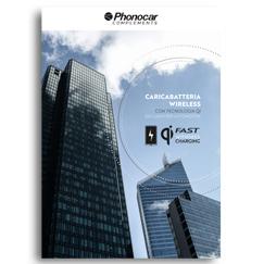 Phonocar Caricabatterie Wireless per auto